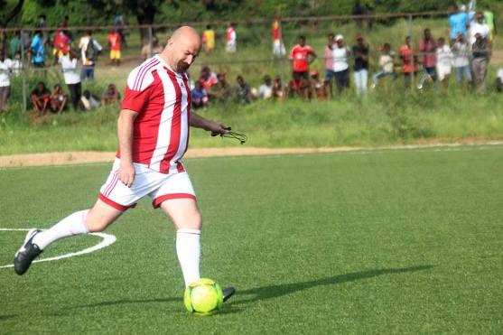 Ahcène AIT-ABDELMALEK, sélectionneur du Burundi.©FFB
