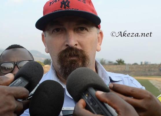 Le selectionneur burundais Ahcene Ait Abdelmalek ©Akeza.net