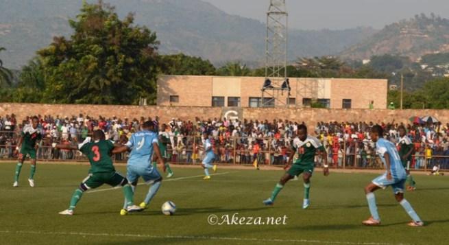 Au cours de la rencontre Burundi-Djibouti (Eliminatoires CHAN 2016) ©akeza.net