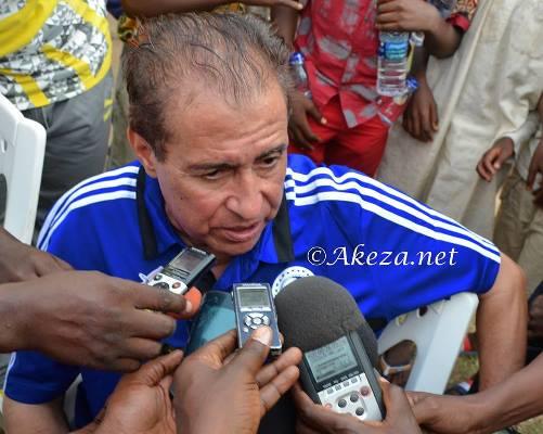 Le selectionneur djiboutien Nourredine Garsahi ©Akeza.net