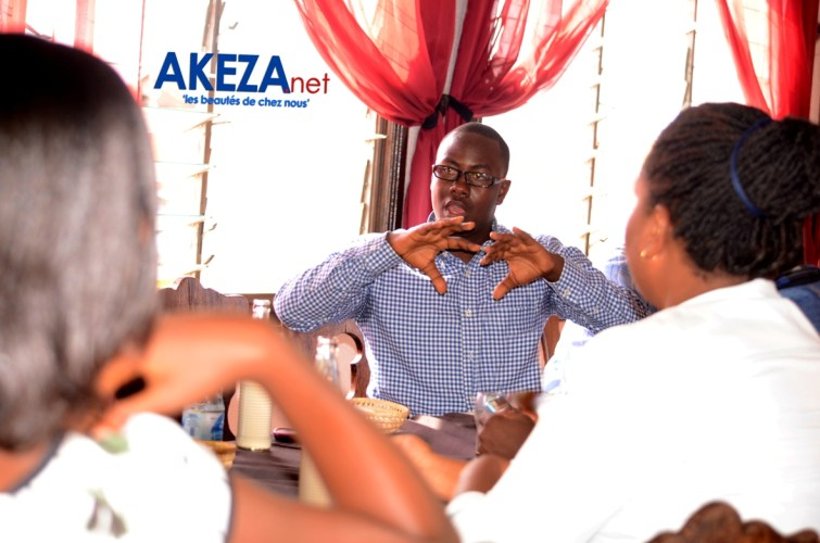 Landry Mugisha , orateur du jour.©Akeza.net