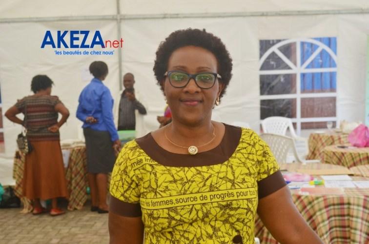 Claudette NGENDANDUMWE, présidente de l'AFAB © Akeza.net