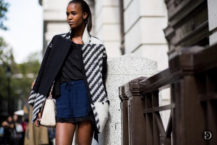 Le top model Leila Ndabirabe
