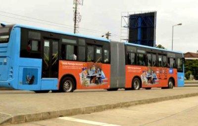 Les nouveaux bus de transport rapides à Dar es Salam PHOTO | EMMANUEL HERMAN