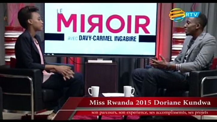 Davy Carmel et Miss Rwanda