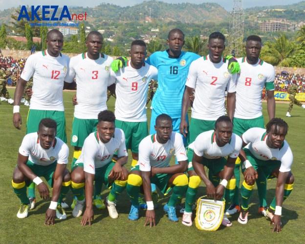 Les Lions de la Teranga avant le match ©Akeza.net