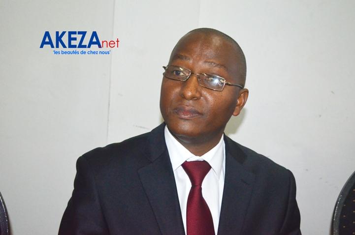 Pierre Claver Hakizindavyi,vice-président©Akeza.net