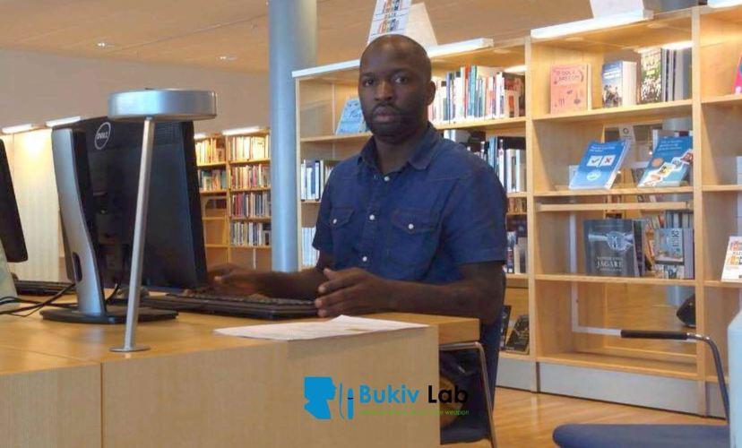 Jackson BACUMI alias DJ Jackson , fondateur de Bukiv Lab