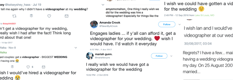 5 Reasons why you should invest in a Wedding Videographer