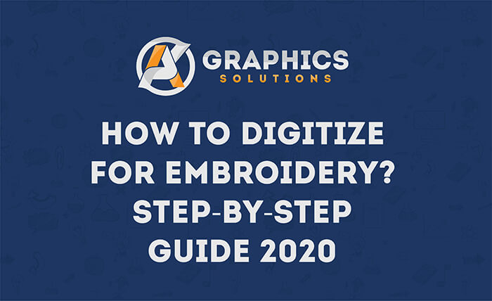 ow to digitize for embroidery