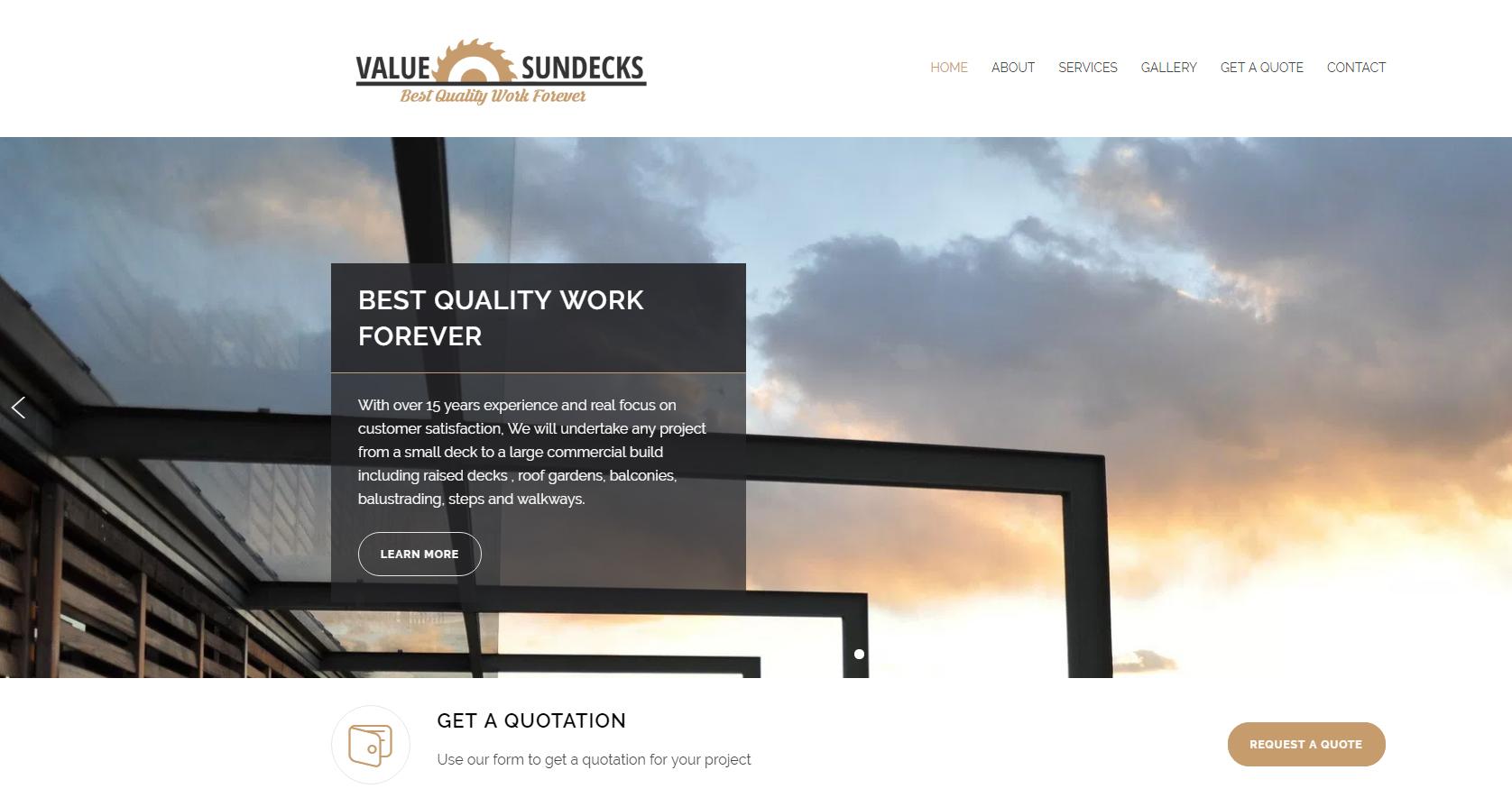 Value Sundecks