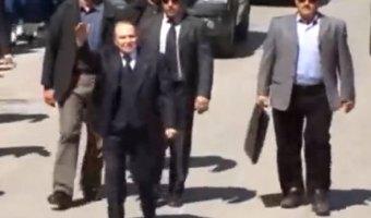 ترشح الرئيس الجزائري بوتفليقة للعهدة الرابعة 2014