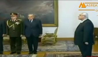 استقالة حكومة ابراهيم محلب