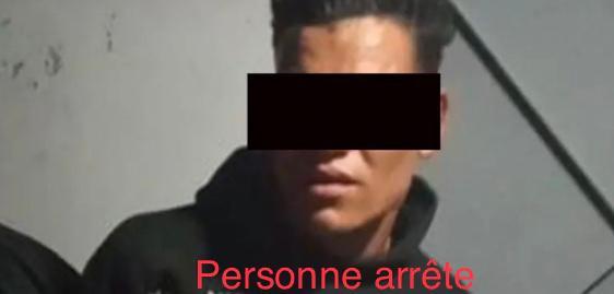 طنجة..فرقة الشرطة القضائية بمنطقة امن بني مكادة تلقي القبض علي احد الاشخاص حاول تعريض المواطنين للسرقة
