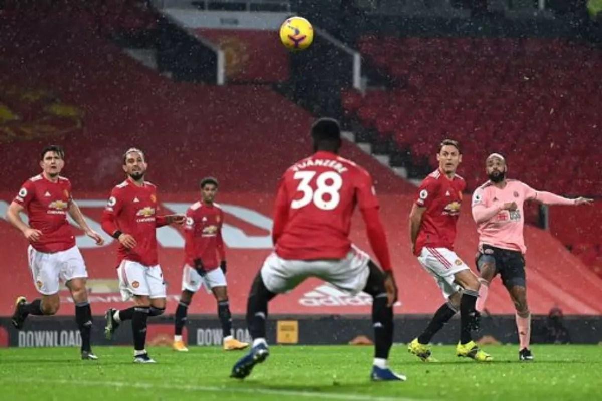 تغطية مباراة مانشستر يونايتد ضد شيفيلد الجولة 19 في الدوري الإنجليزي الممتاز