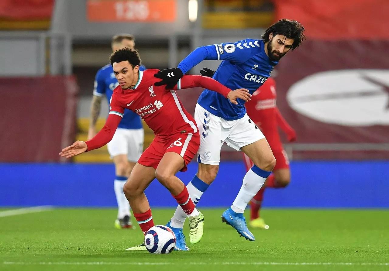 ليفربول ضد إيفرتون وهزيمة الريدز