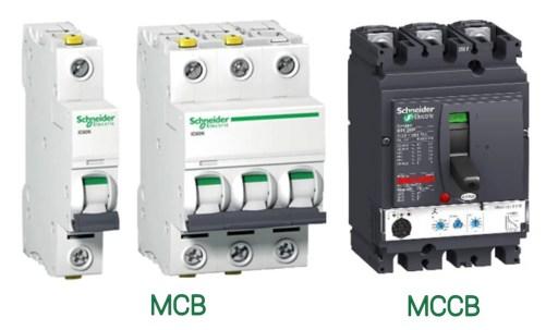 Perbedaan MCB dan MCCB