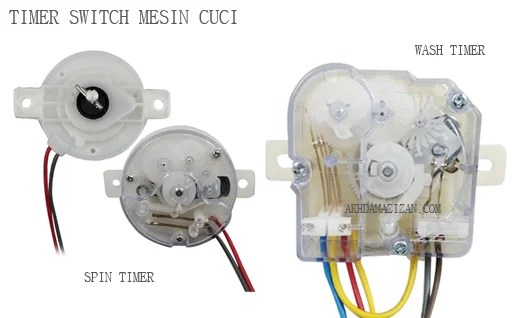 Timer Switch Mesin Cuci
