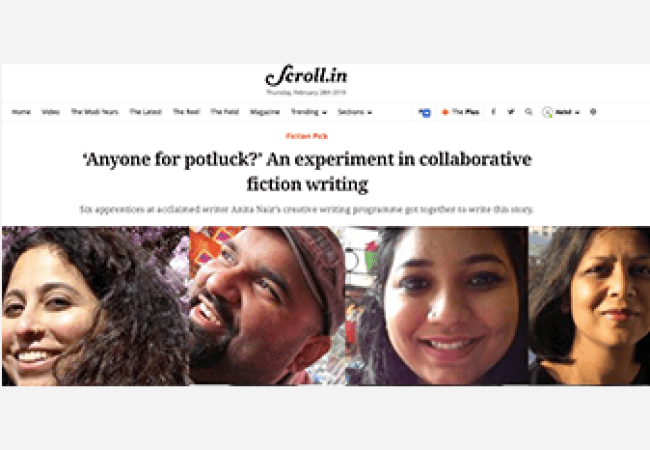 Collaborative Fiction in Scroll