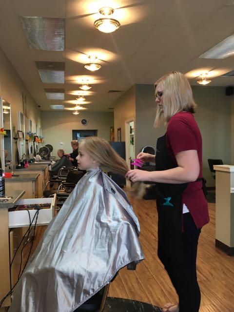 Mirah Gets a Haircut