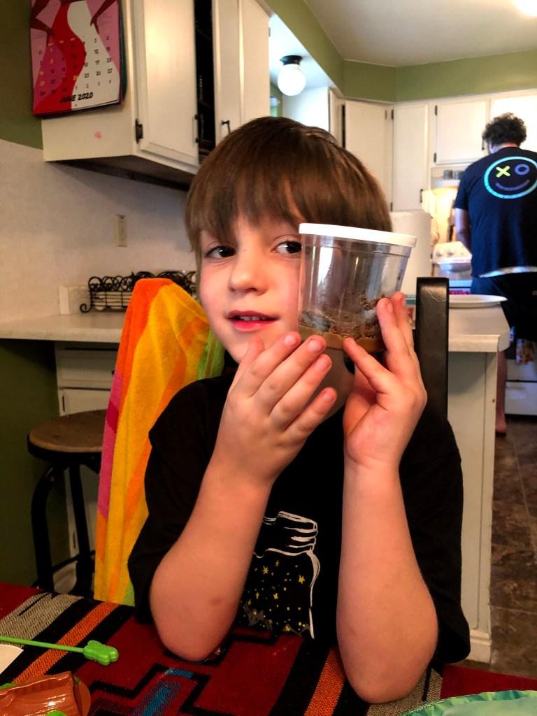 Lucas's Birthday Week Begins: Butterflies Step One