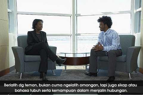 Akhmad Guntar - Persiapan Diri untuk Interview/Tes Wawancara Kerja - berlatih dg teman