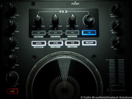 Right Jog and FX/Loop buttons