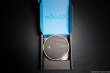 Echo Dot Top Down in Box