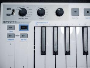 Keystep knobs controls close akiatech