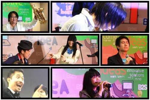 Anisong Friends in the mood