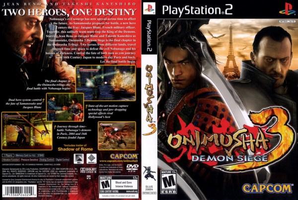 Onimusha 3 Demon Siege COVE0R