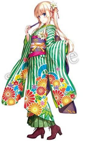 aniplex-post-illustrations-of-saekano-girls-in-kimono-01