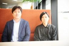 คุณคาวาชิมะ ฮิเดโนริ กรรมการผู้จัดการ (ซ้าย) และผู้กำกับ ซากุรางิ ยูเฮ (ขวา)