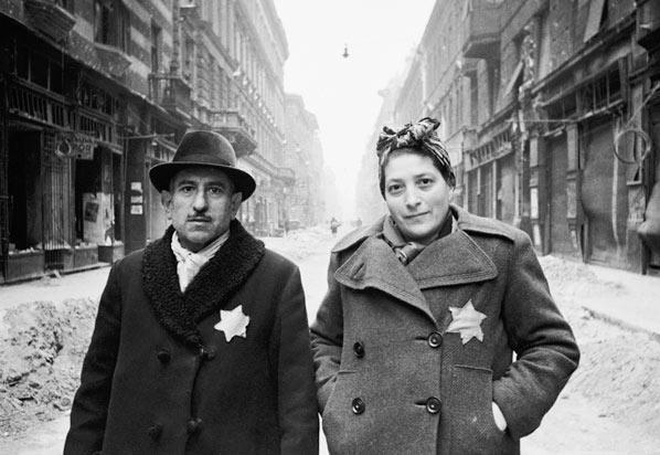 zsidó házaspár Budapesten 1944-ben