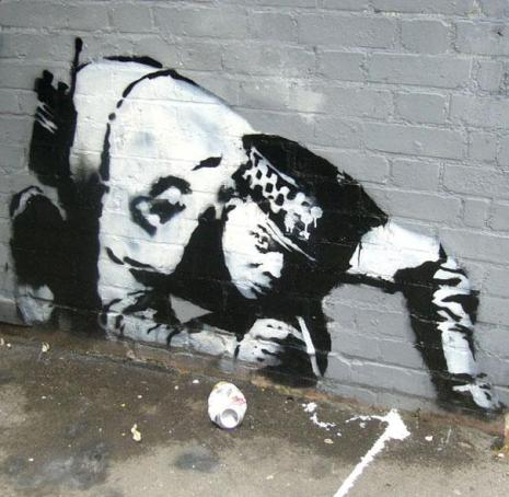 Cop snorting
