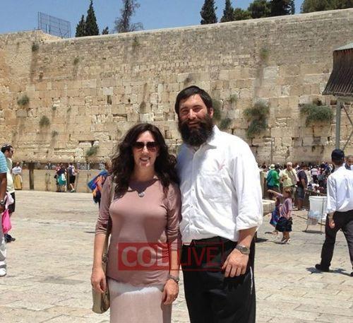 Hurwitz rabbi és feleség néhány éve