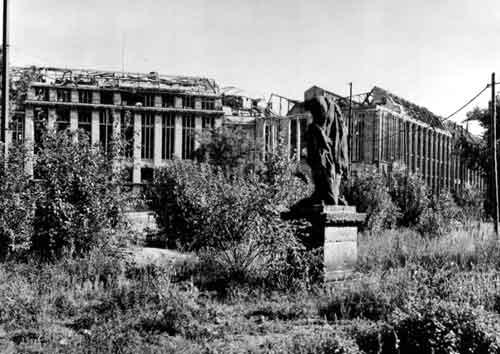 A Wertheim Nagyáruház a 2. világháború után