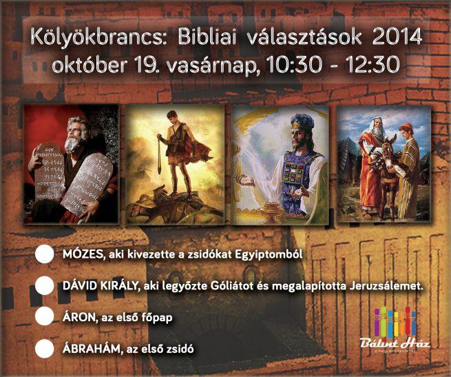 Kölyökbrancs Bibliai Választások 2014