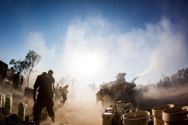 Izraeli tüzérség tüzet nyit Gáza irányába