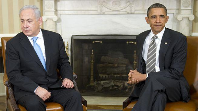 Benjamin Netanjahu és Barack Obama