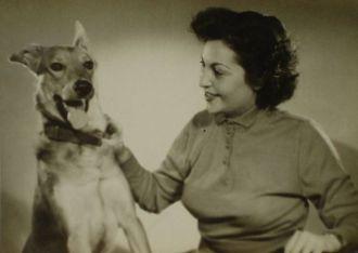 8 Első felesége Vas Albina 1949 körül
