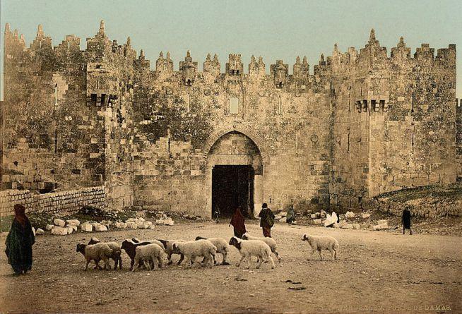 A Damaszkuszi kapu 1890 körül