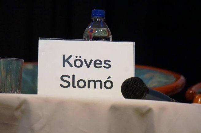 Köves Slomó üres helye (Fotó: Szentgyörgyi Ákos)