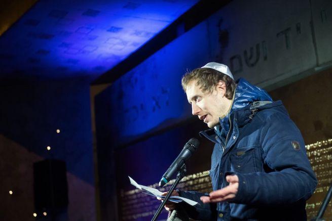 Nemes Jeles László, az Oscar-díjas Saul fia című film rendezője (Fotó: Koszticsák Szilárd/MTI)