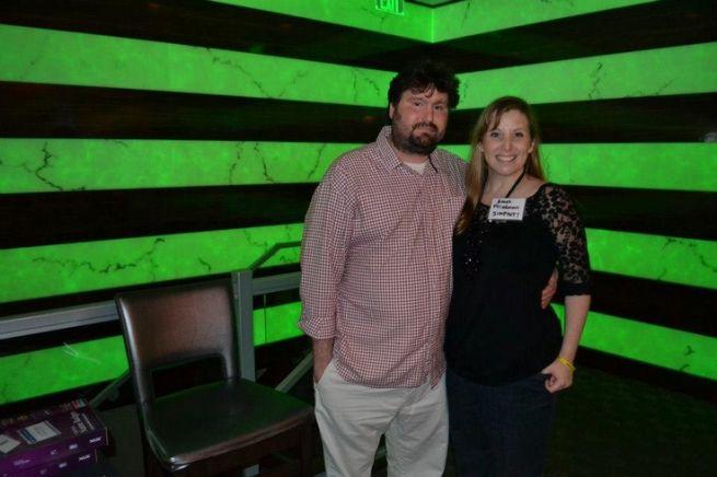 Mike Peinovich és neje, Ames Freidman