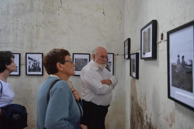 Izrael 70. születésnapjára rendezett kiállítás Bonyhádon (Fotó: Makovics Kornél/TEOL)