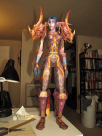 papercraft-wow-character