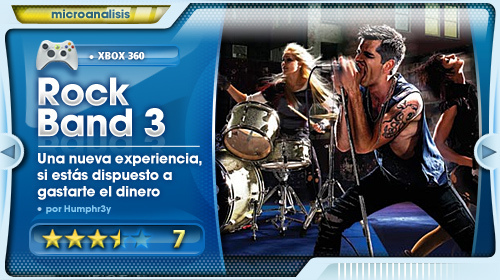 Rock Band 3 Análisis