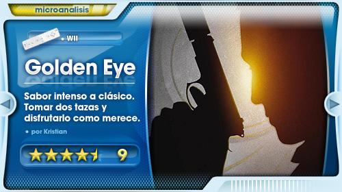 Análisis Golden Eye