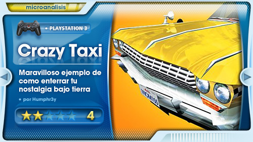Análisis Crazy Taxi para PlayStation Network